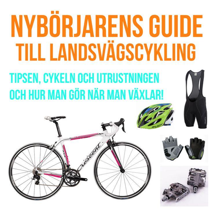 Börja cykla racer, landsvägscykel för nybörjare