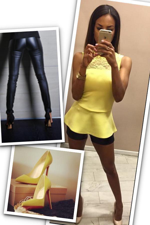 Sárga peplum, mindíg bevethető!  Envy Fashion- Corvin sétány