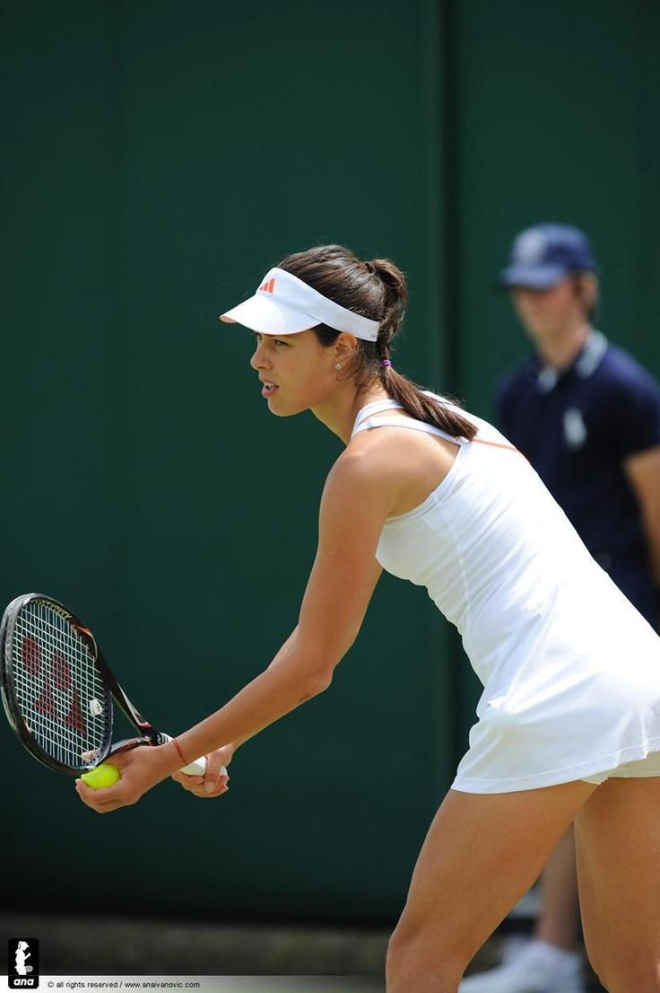 Ivanovic in Wimbledon 2012..