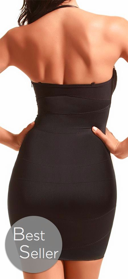 GRACE - STRAPLESS SHAPING SLIP  159.00 The Grace is our strapless shapewear slip, made with performance fabrics that breathe and mold to you...