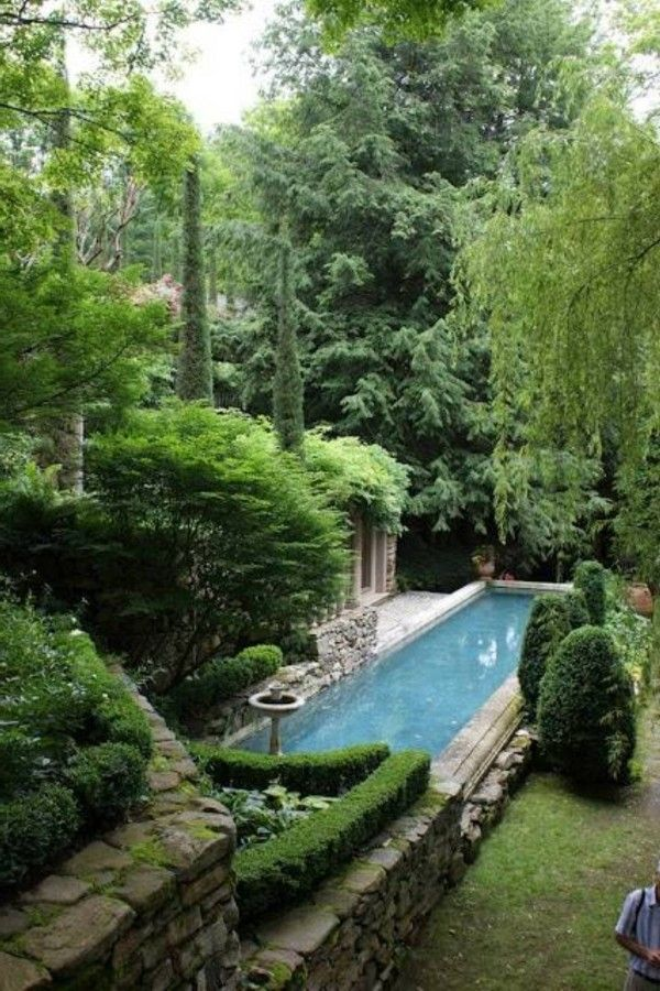 Great backyard landscaping ideas with pool