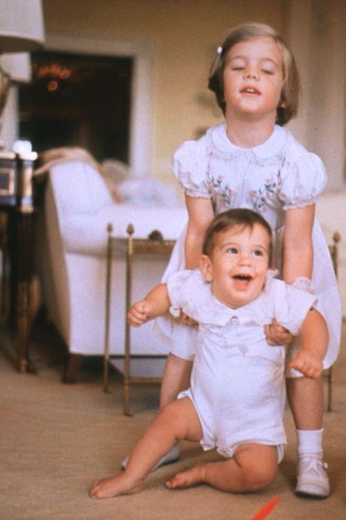 Caroline and John John Kennedy                                                                                                                                                     More