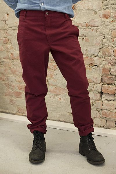 R.Descartes Chinos 100% Organic & Fairtrade cotton
