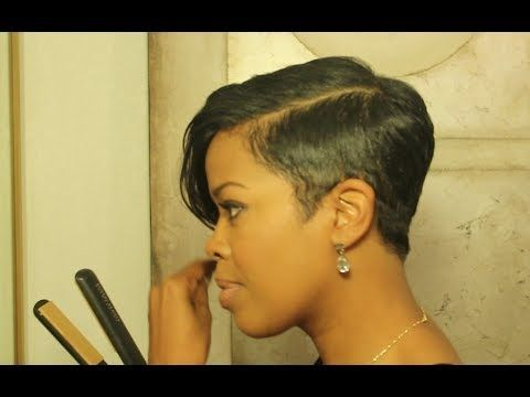 Natural Hair | Transition Style | Cute Curly Fro - YouTube
