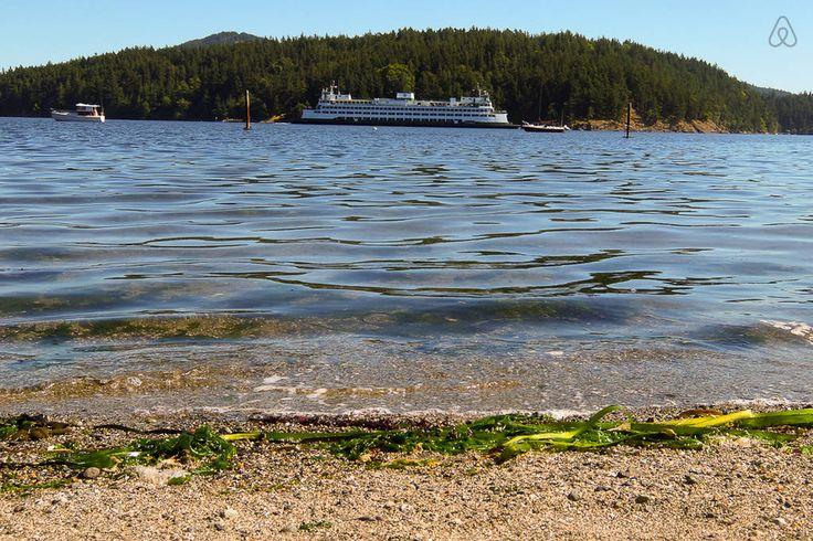 Ilha Orcas, que faz parte do arquipélago das ilhas San Juan, no estado de Washington, USA.