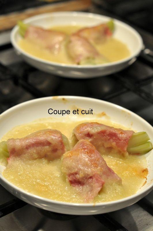 Fenouil au jambon