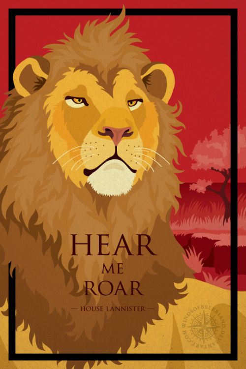 "Hear Me Roar: House Lannister - Deviant Artist ""windsofbeleriand"""