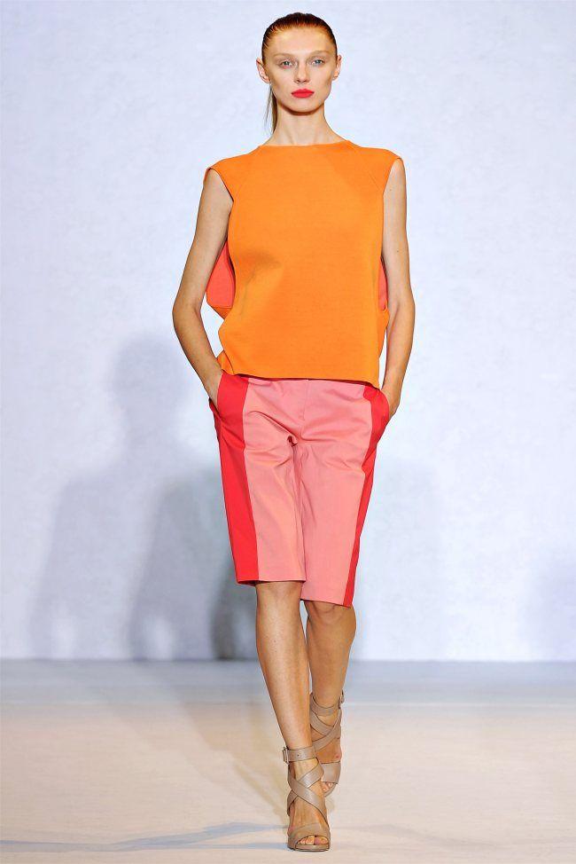 Nicole Farhi Spring 2012 | London Fashion Week , Runway { via fashion gone rogue }