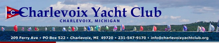 I love sailing along the Great Lakes and stopping at the Charlevoix Yacht Club.  There is great shopping, gourmet restaurants and great home-made ice cream within the shops of the downtown.