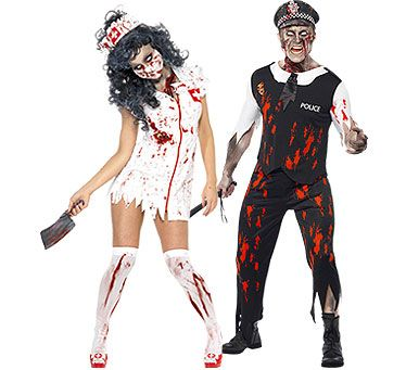 couples halloween costumes party delights party delights - Couple Halloween Costumes Scary