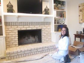 17 Best Images About Brick Anew Fireplace Brick Paint Kit