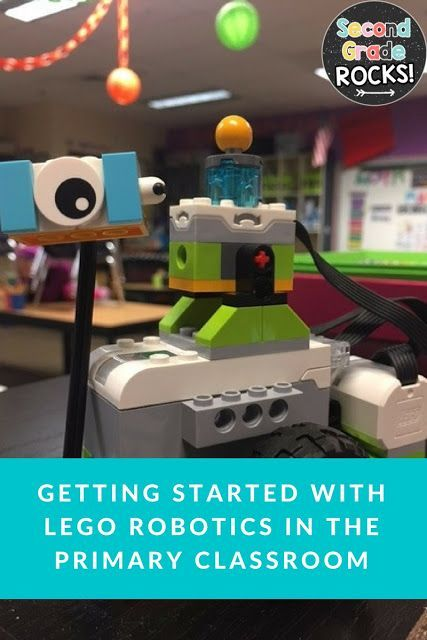 Lego WeDo Robotics first, second and third grade.