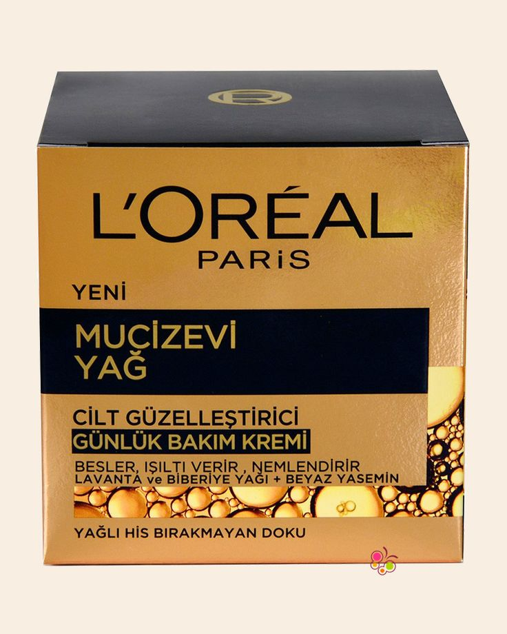 LOREAL PARIS Mucizevi Yağ Cilt Güzelleştirici Günlük Bakım Kremi 50 ml