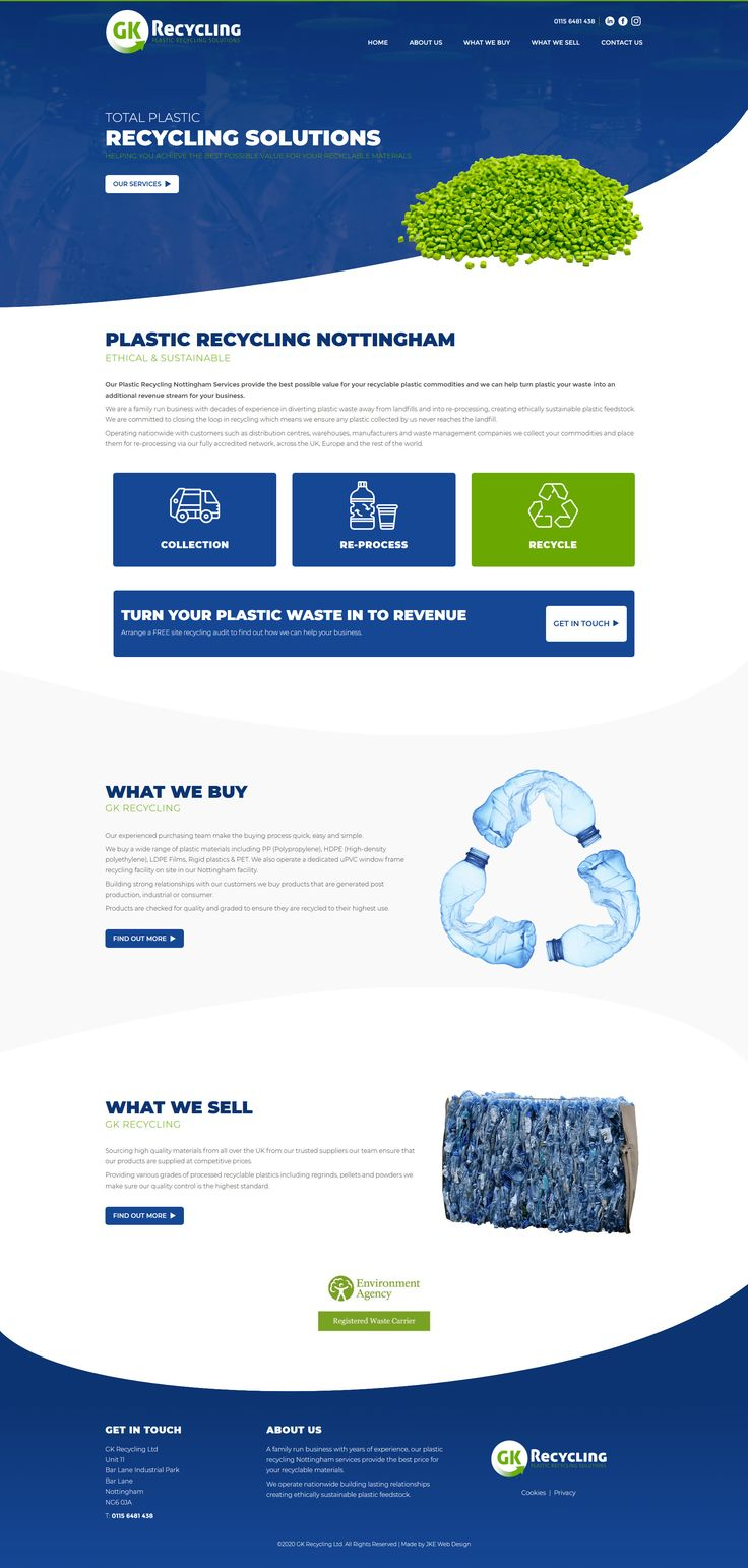 Recycling Website In 2020 Responsive Web Design Website Design Recycling
