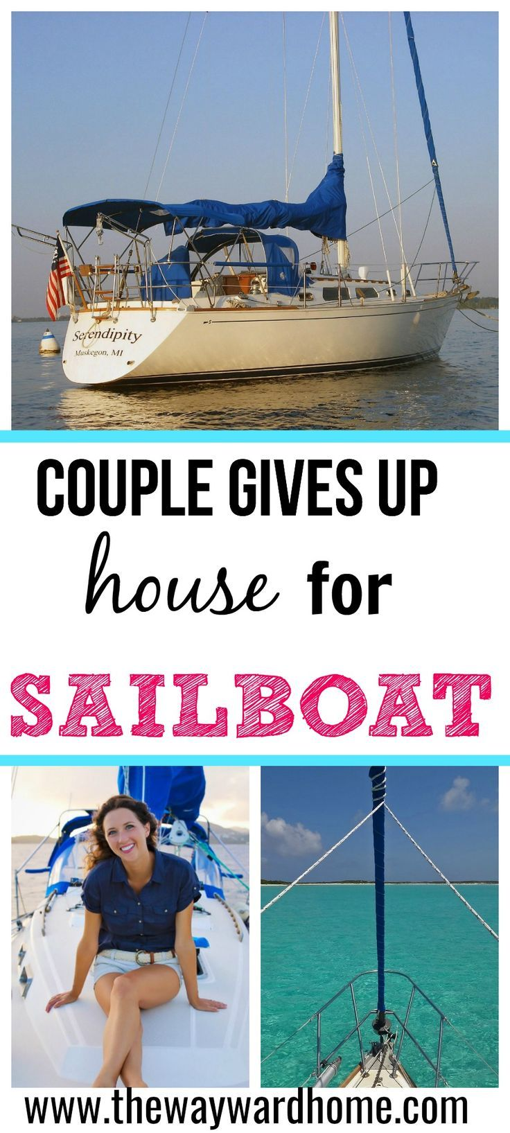 Matt and Jessica gave up life on land to buy a sailboat, and haven't looked back. They love sailing, cruising and living aboard and don't want a house in the near future. #sailing #bluewater #yacht #cruising #sailboat