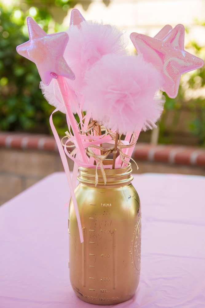 Pink and Gold Birthday Party Ideas | Photo 12 of 30 | Catch My Party