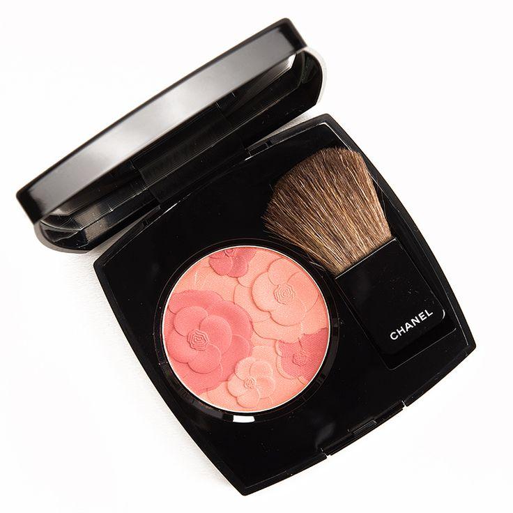 Chanel Blush Camelia Peche Jardin de Chanel Blush Review, Photos, Swatches