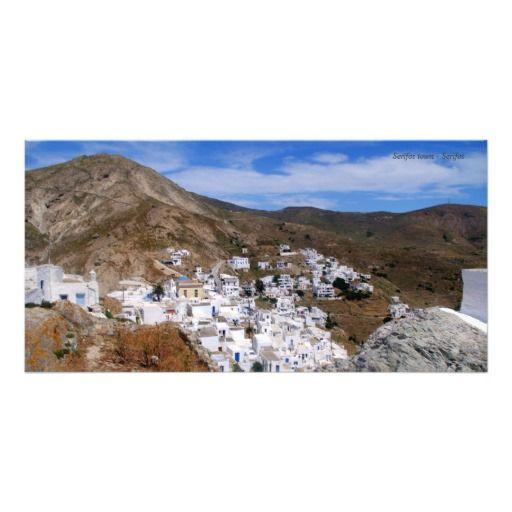 Serifos town – Serifos Picture Card