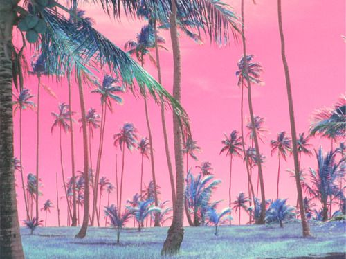 Pink And Blue Aesthetic Pastel Wallpaper