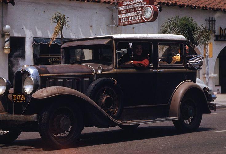 Калифорния, 1952 год.