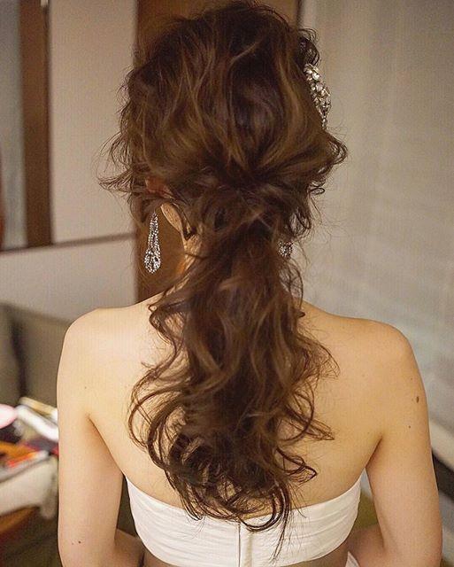 wedding hairarrange