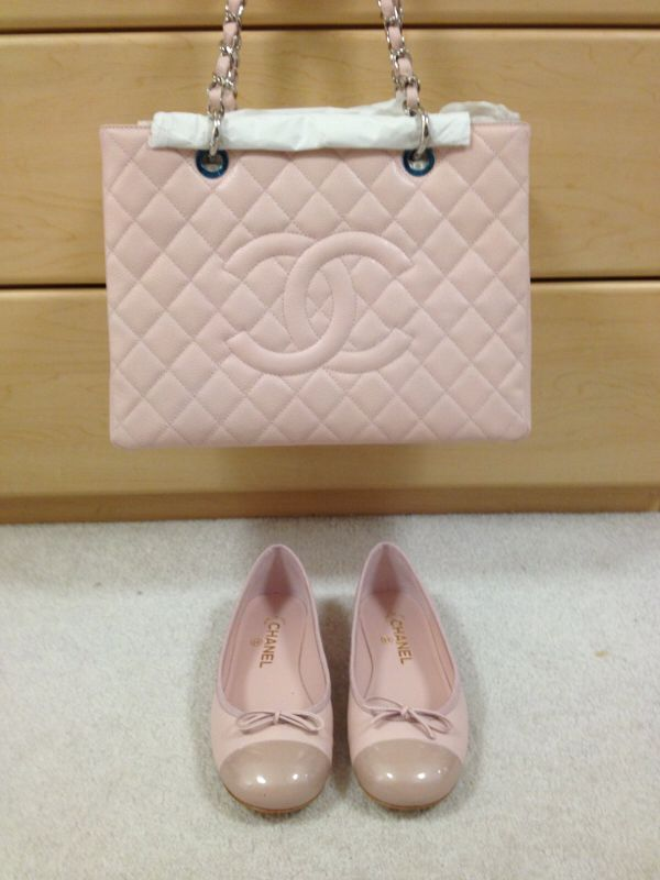 Chanel gst and ballet flats