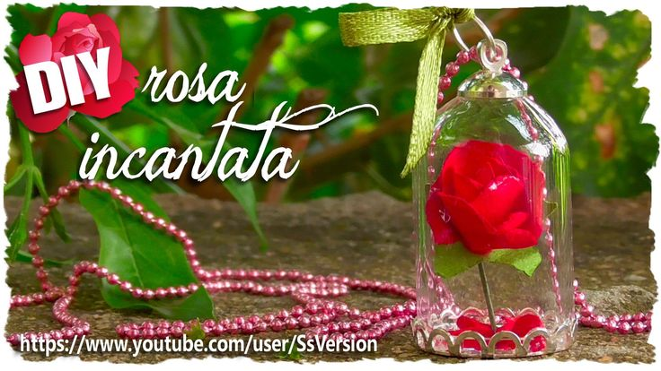 Tutorial: Rosa Incantata | DIY Miniature Enchanted Rose ♥ the Beauty and...