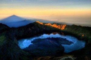 Segara Anak Lake at Mount Rinjani