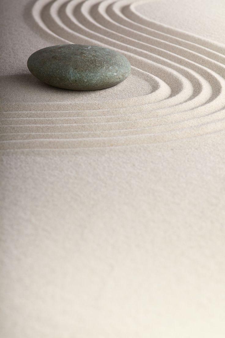 Love how Zen sand imitates water!