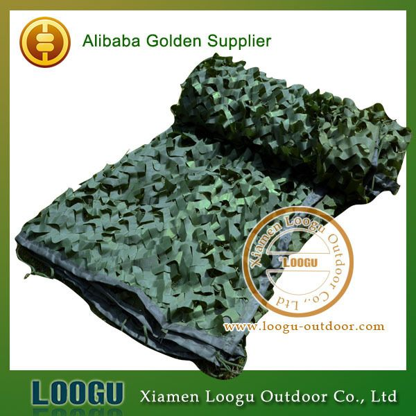 2M*3M CN-B101 Green Tent Cover bird observation Sun Shelter Camouflage Net Woodlands Leaves netting Army Combat CS