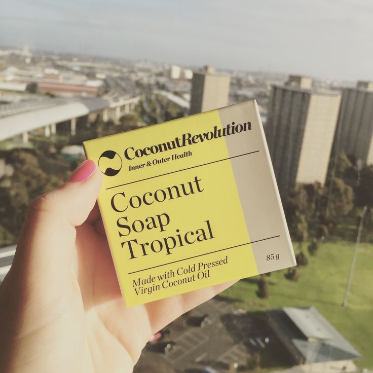 Coconut revolution tropical soap. Amazing