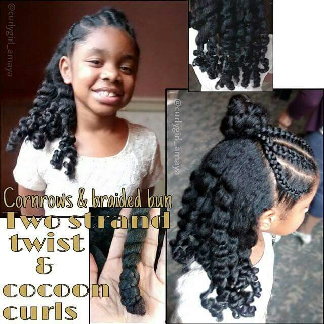 I think this style is cute for girls 8-12 years old ...