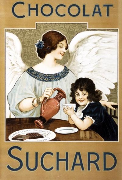 vintage_ads: Swiss Chocolat Suchard ads, 1890s-1920s