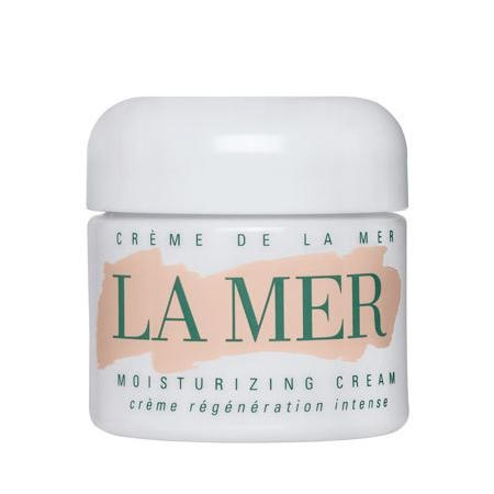 Creme de la Mer, 1 oz. or Lotion de la Mer now that I'm in a warmer, more humid climate. worth every penny: does the job & lasts for months (w/ very sensitive skin, I wash once/day - a bottle of Lotion de la Mer lasts me 6 - 8 months. amortized out, that's 16.00/month. most women spend more on products that don't work. try something that really does.)