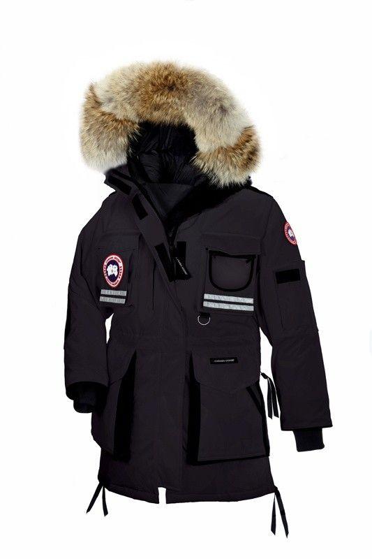 Canada Goose Snow Mantra Parka Noir Femme