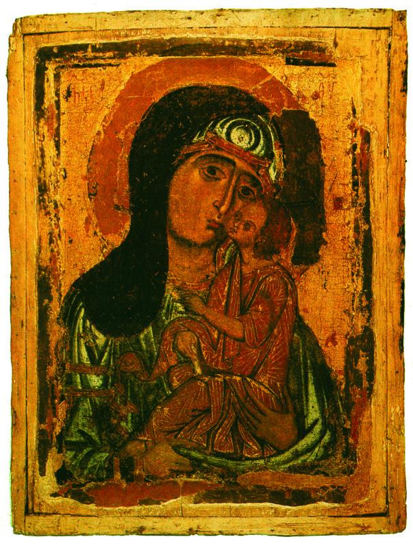 XII  начало XIII в. Богоматерь.