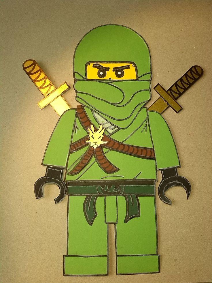 ein bastelset für ninjago schultüten  ninjago schultüte