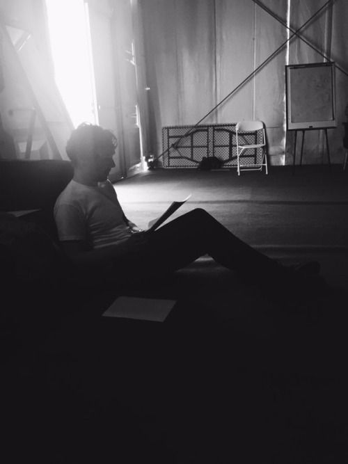 Backstage. by Louise Brealey