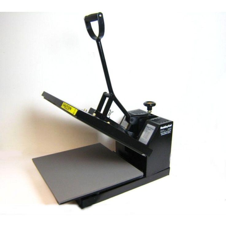 HobbyCut A1 Transferpresse 38cm x 38cm Textilpresse 2000 Watt | RC Shop Modellbau City