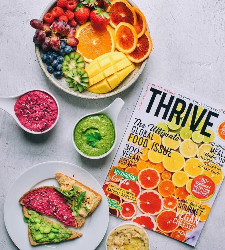 Yum! Thrive Magazine @thrivemags dinner, featuring 100% vegan recipes, clean beauty, travel and more than 75 foodies, now on stands nationally in the U.S. at every major grocery store + Target. Make sure you grab your copy at the grocery store today at @wholefoods @sprouts @earthfare @mothersmarkets @vitamincottage, @target @safeway @publix @krogerco, etc. Photo by Nisha @rainbowplantlife #thrivemags #veganmagazine #foodmagazine