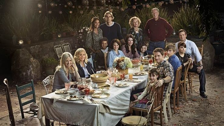"""The """"Parenthood"""" cast sits in the grandparents' magical"""