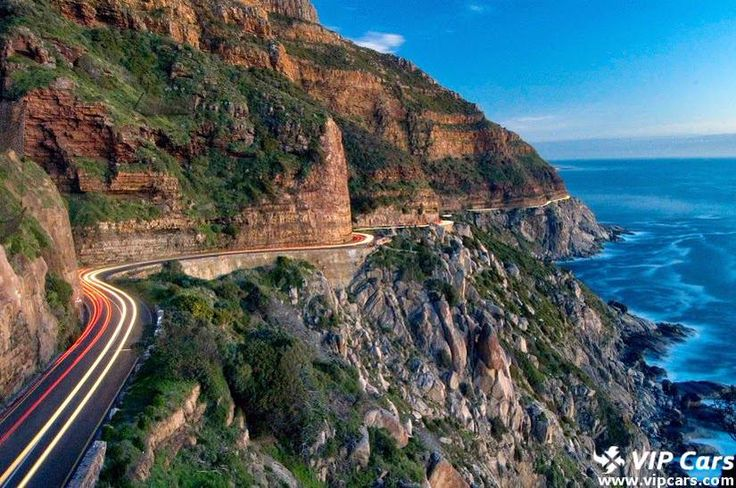 #ChapmansPeakDrive in #SouthAfrica is the part of a route on which two of the most participated races are undertaken