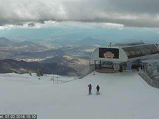 Schneebericht Gerlitzen Alpe: Schneehöhe Gerlitzen Alpe - Schneehöhen - Schneewerte