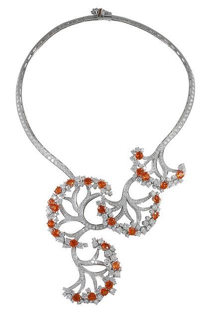 Van Cleef & Arpels - Castalie necklace by Van Cleef & Arpels, via Flickr