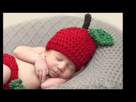 Difraces de crochet para bebés o recién nacidos - YouTube