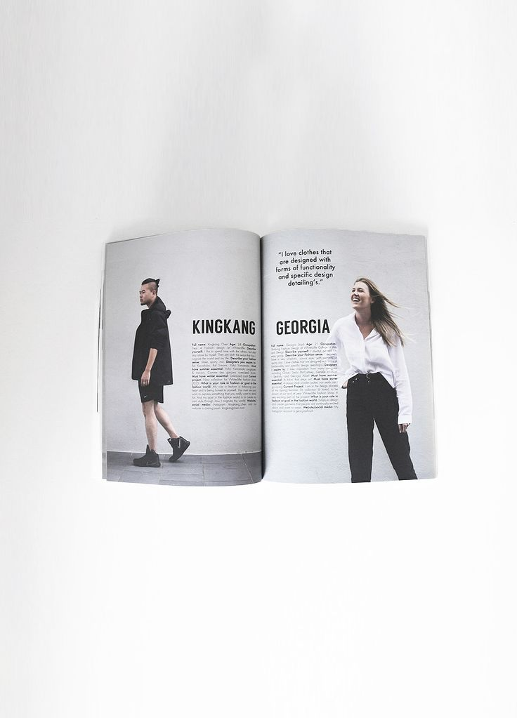 Profile: Talented Up & Coming Fashion Designers: Volume 2 | @Vane Magazine #graphicdesign #publication