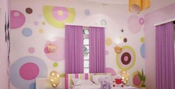 Çok Güzel Çocuk Odası Renkli Perde Modelleri