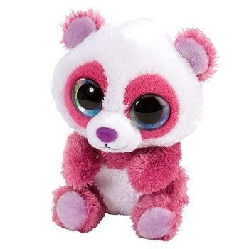 Cherry the Lil Sweet and Sassy Stuffed Pink Panda by Wild Republic