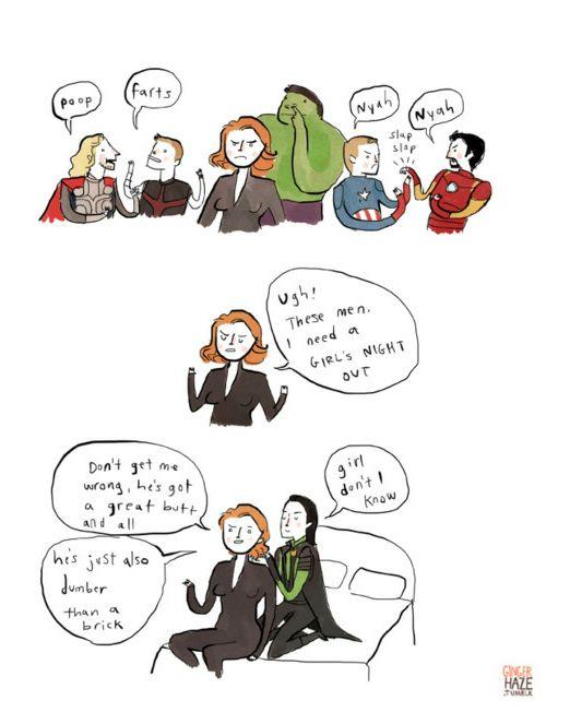 """Super Cute """"Avengers"""" Fan Art - BuzzFeed Mobile"""