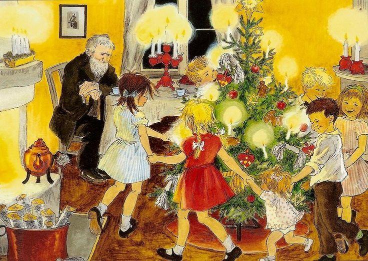 Weihnachtsfest in Bullerbü - Ilon Wikland